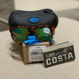 Costa Copra Polarized Glass (580) - Brand New 😎